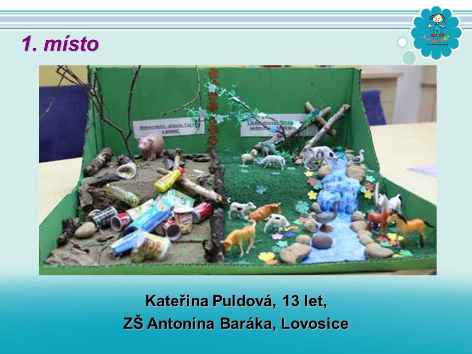 Kateřina Puldová, 13 let, ZŠ Antonína Baráka, Lovosice 1. místo