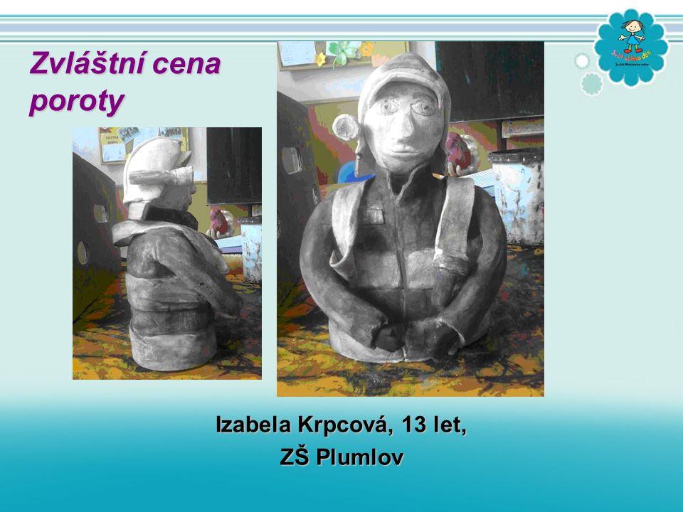 Izabela Krpcová, 13 let, ZŠ Plumlov Zvláštní cena poroty poroty