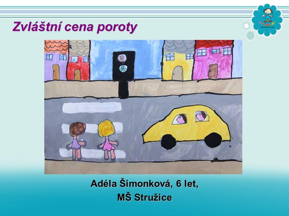 Adéla Šimonková, 6 let, MŠ Stružice Zvláštní cena poroty