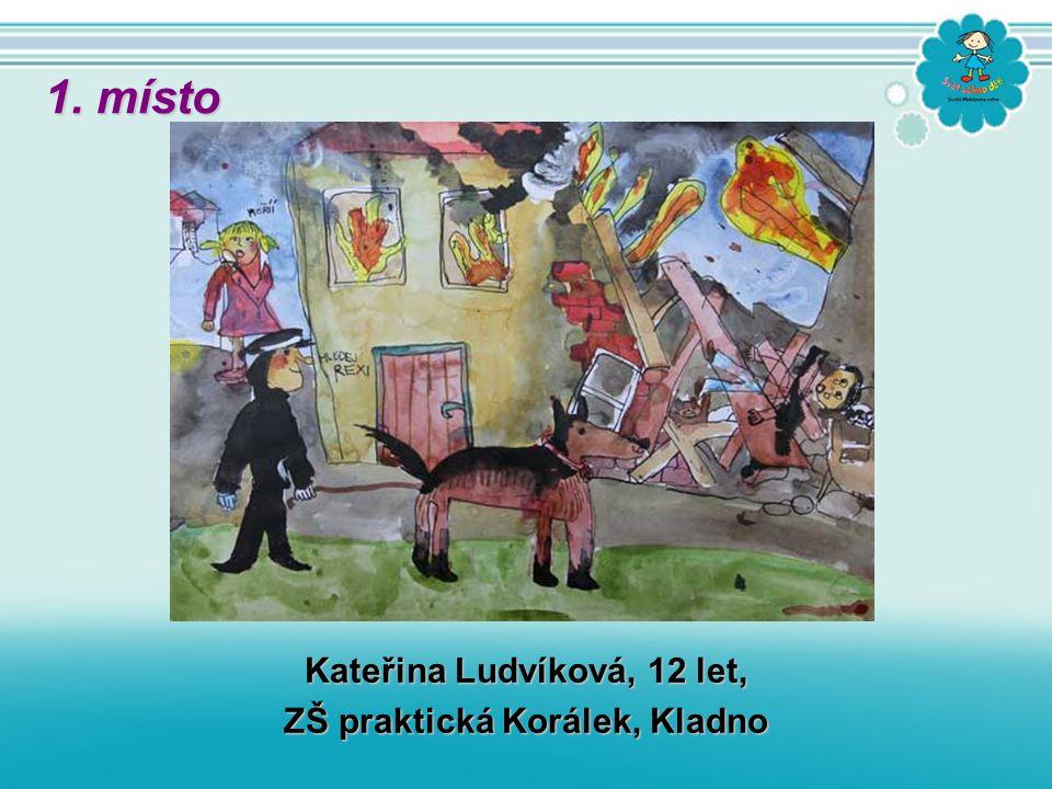 Kateřina Ludvíková, 12 let, ZŠ praktická Korálek, Kladno 1. místo