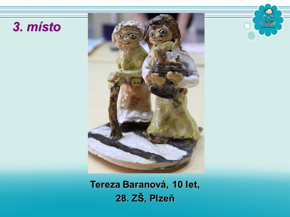 Tereza Baranová, 10 let, 28. ZŠ, Plzeň 3. místo