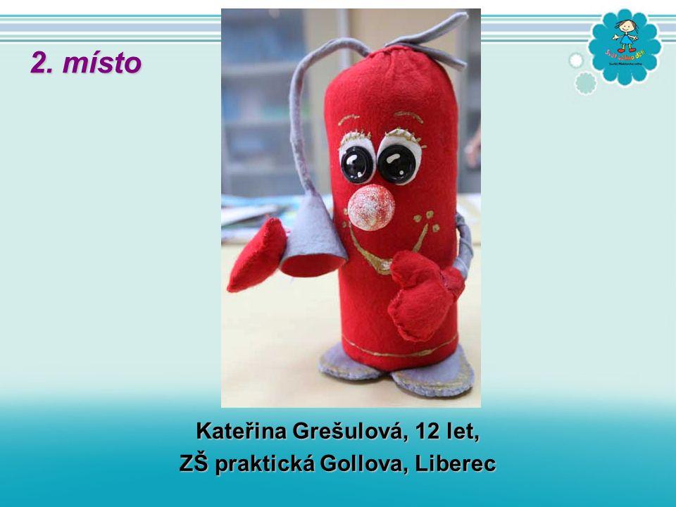 Kateřina Grešulová, 12 let, ZŠ praktická Gollova, Liberec 2. místo