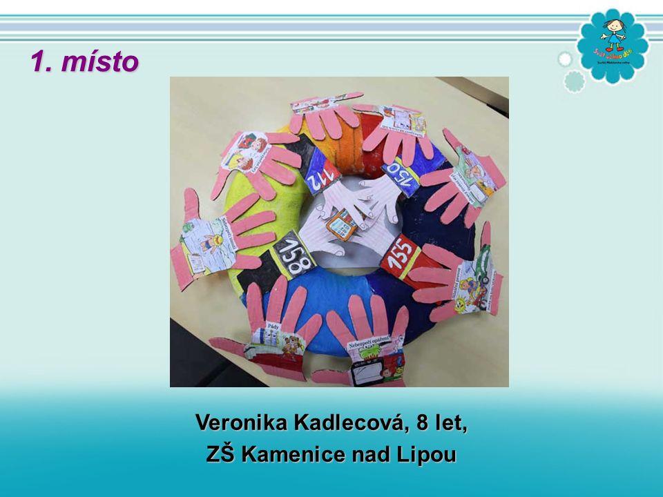 Veronika Kadlecová, 8 let, ZŠ Kamenice nad Lipou 1. místo