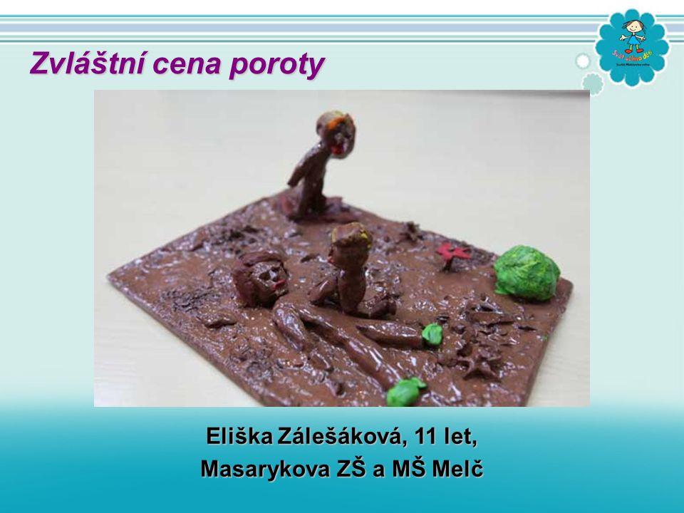 Eliška Zálešáková, 11 let, Masarykova ZŠ a MŠ Melč Zvláštní cena poroty