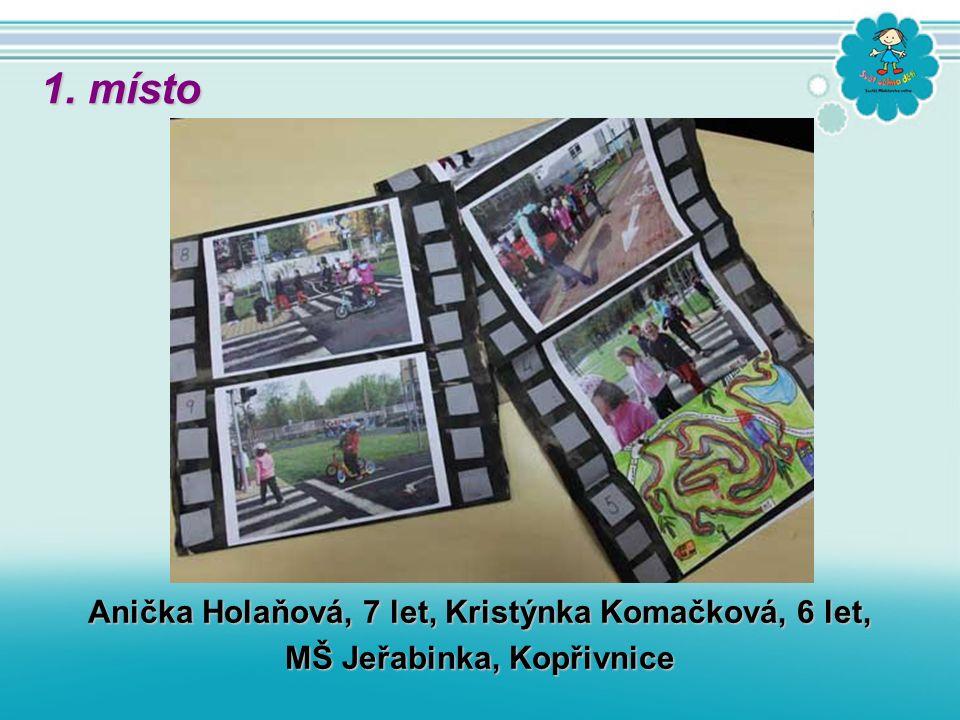 Anička Holaňová, 7 let, Kristýnka Komačková, 6 let, MŠ Jeřabinka, Kopřivnice 1. místo