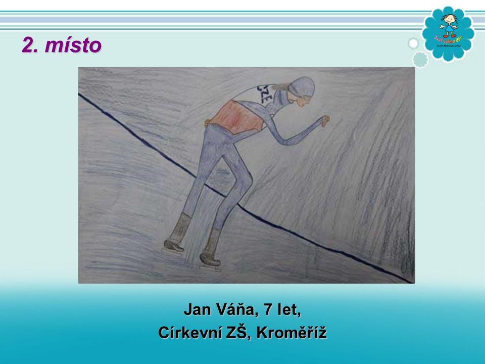 Jan Váňa, 7 let, Církevní ZŠ, Kroměříž 2. místo