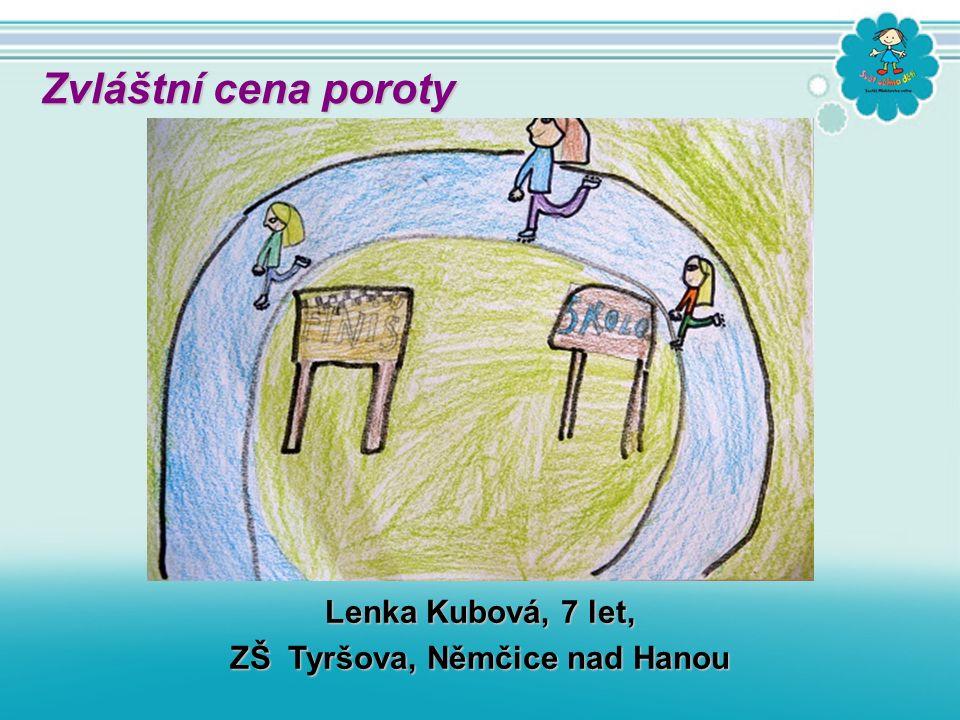 Lenka Kubová, 7 let, ZŠ Tyršova, Němčice nad Hanou Zvláštní cena poroty