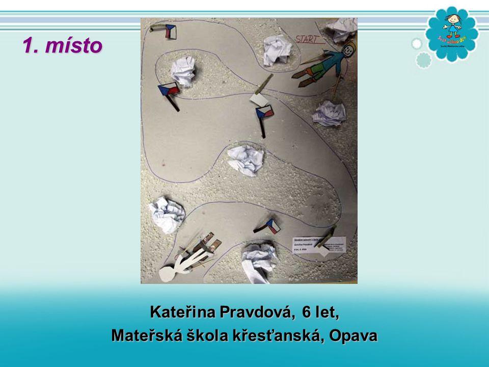 Kateřina Pravdová, 6 let, Mateřská škola křesťanská, Opava 1. místo