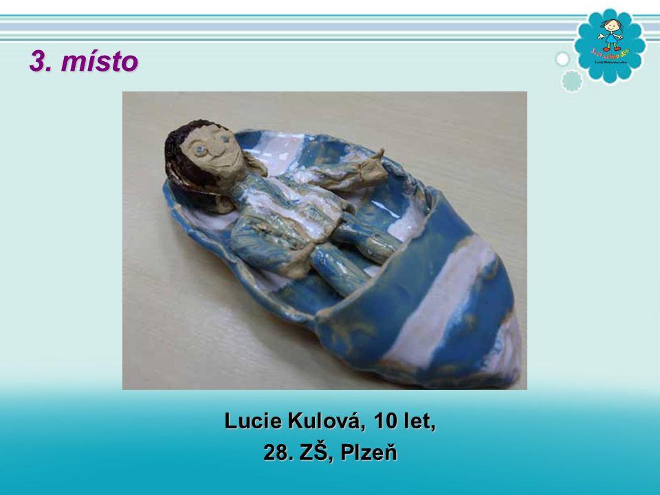 Lucie Kulová, 10 let, 28. ZŠ, Plzeň 3. místo