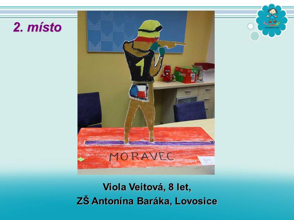 Viola Veitová, 8 let, ZŠ Antonína Baráka, Lovosice 2. místo