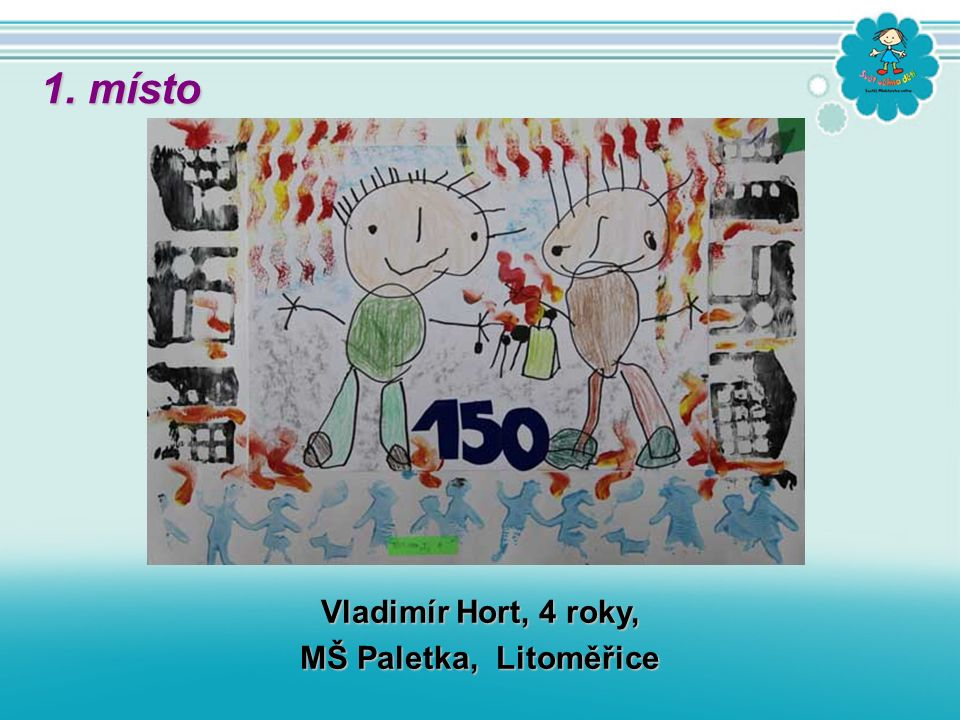 Vladimír Hort, 4 roky, MŠ Paletka, Litoměřice 1. místo