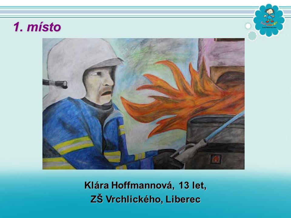 Klára Hoffmannová, 13 let, ZŠ Vrchlického, Liberec 1. místo