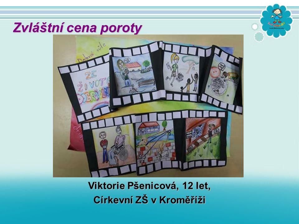 Viktorie Pšenicová, 12 let, Církevní ZŠ v Kroměříži Zvláštní cena poroty