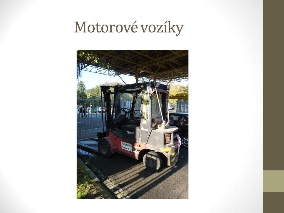 Motorové vozíky