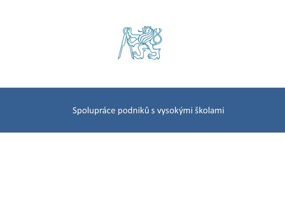 Kolaboratorní výzkum Účinná spolupráce Smlouva o využití podpory Smluvní výzkum Úvod ČVUT – odbor rozvoje2
