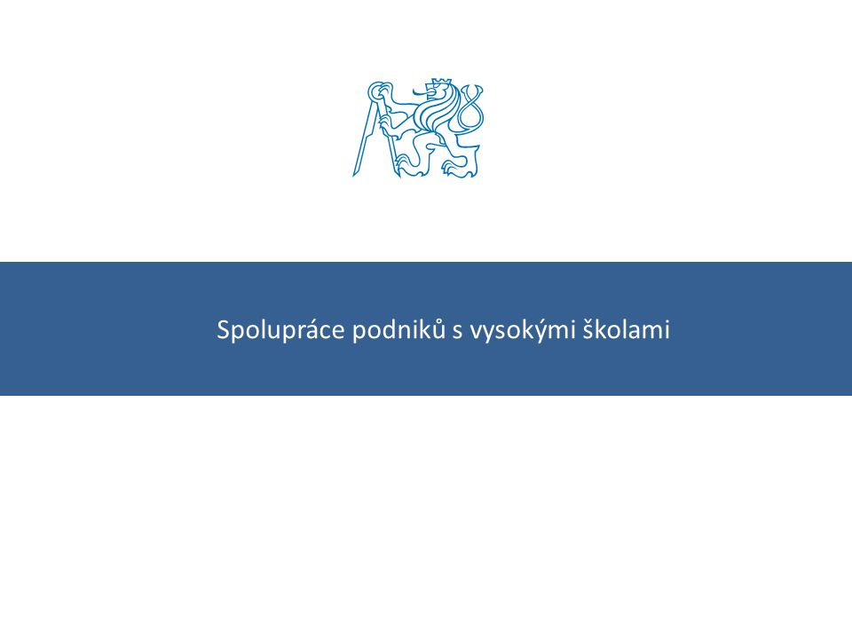 Kontakty ČVUT – odbor rozvoje12 České vysoké učení technické v Praze Zikova 4, 166 36 Praha 6 Odbor rozvoje Rektorát ČVUT www.cvut.cz Kontakty Ing.