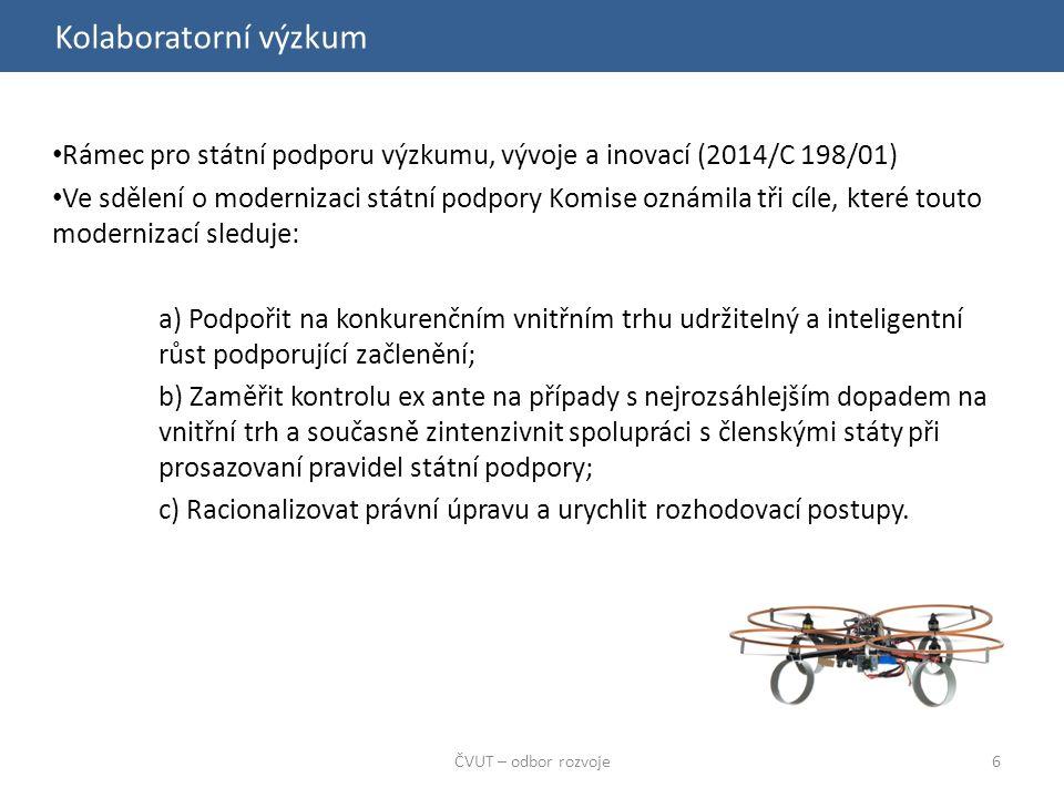 Kolaboratorní výzkum ČVUT – odbor rozvoje7 Kolaborantoví výzkum - účinná spolupráce 1.