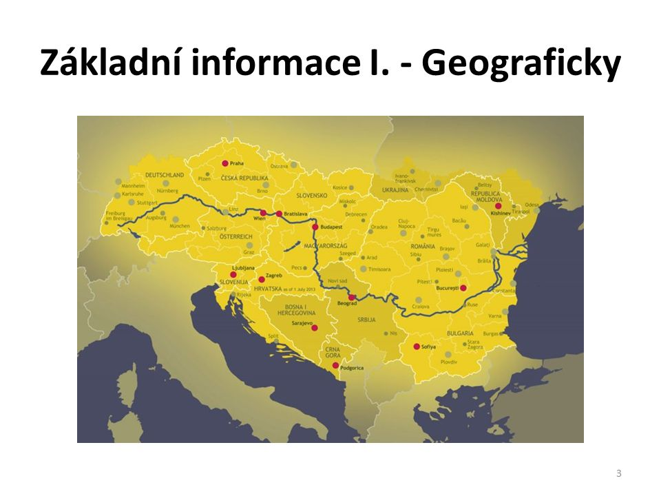 Základní informace II.
