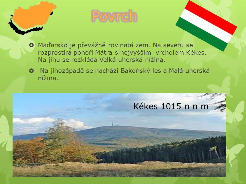  Maďarsko je průmyslově zemědělská země.