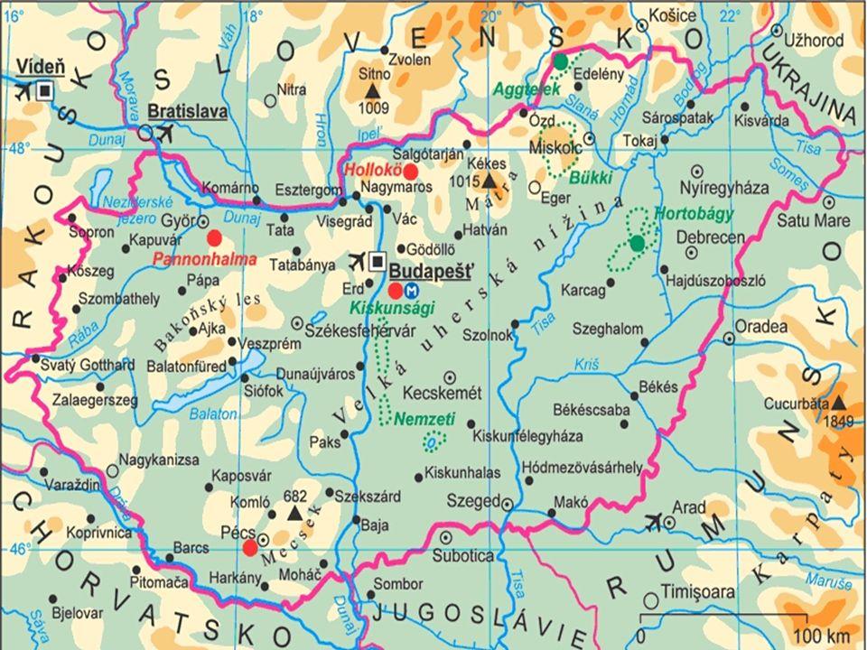  Maďarsko je převážně rovinatá zem.