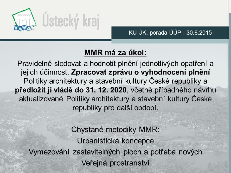 MMR má za úkol: Pravidelně sledovat a hodnotit plnění jednotlivých opatření a jejich účinnost.