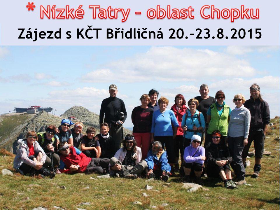 Zájezd s KČT Břidličná 20.-23.8.2015