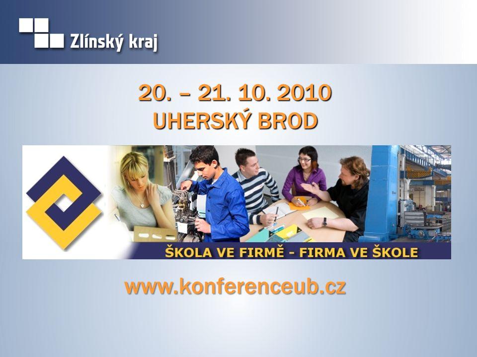 20. – 21. 10. 2010 UHERSKÝ BROD www.konferenceub.cz