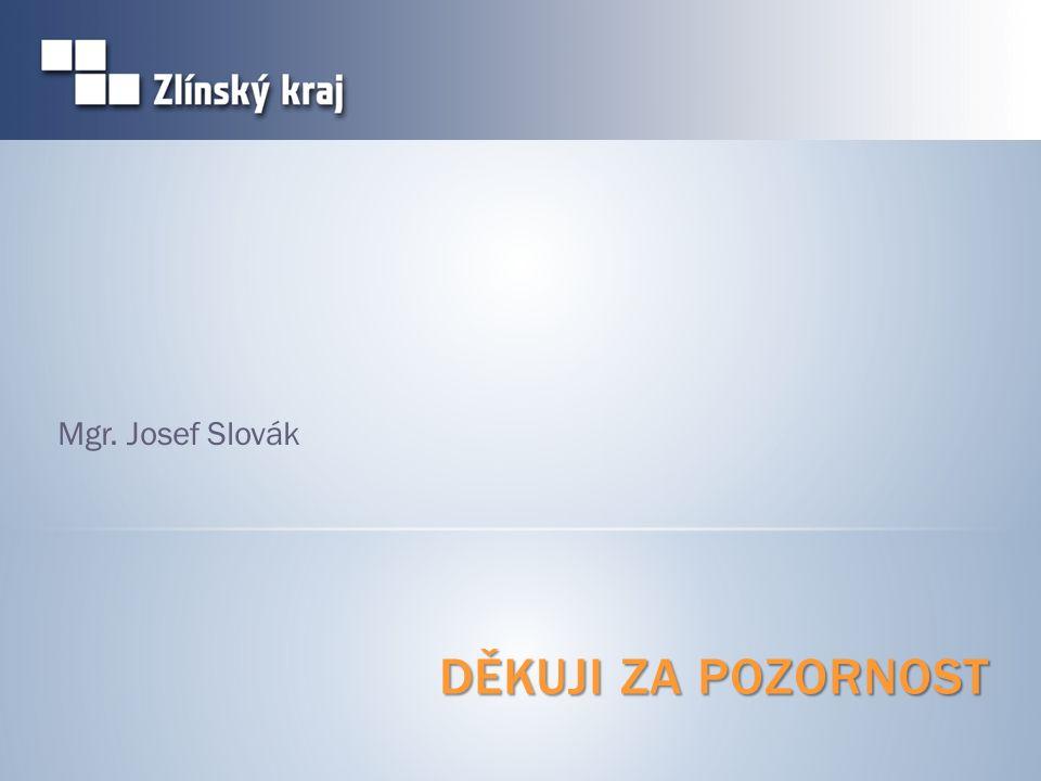 DĚKUJI ZA POZORNOST Mgr. Josef Slovák