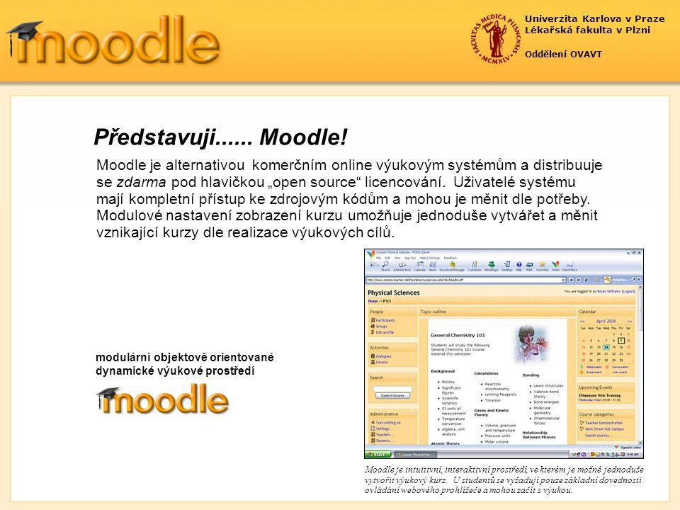 Univerzita Karlova v Praze Lékařská fakulta v Plzni Oddělení OVAVT Podpora studentů zahrnuje Konstruktivní pohled studentů spojený s aktivním přístupem v kurzu přináší nové pojetí výuky a učitel může svojí přítomností analyzovat, sledovat, spolupracovat, podílet se, a vytvářet si pohled, co všechno studenti již ovládají, přesněji řešeno sleduje jejich odborný růst.