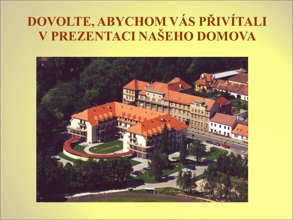 DOMOV PRO SENIORY – příspěvková organizace Domov pro seniory je moderní zařízení, jehož provoz byl zahájen v srpnu 2002.