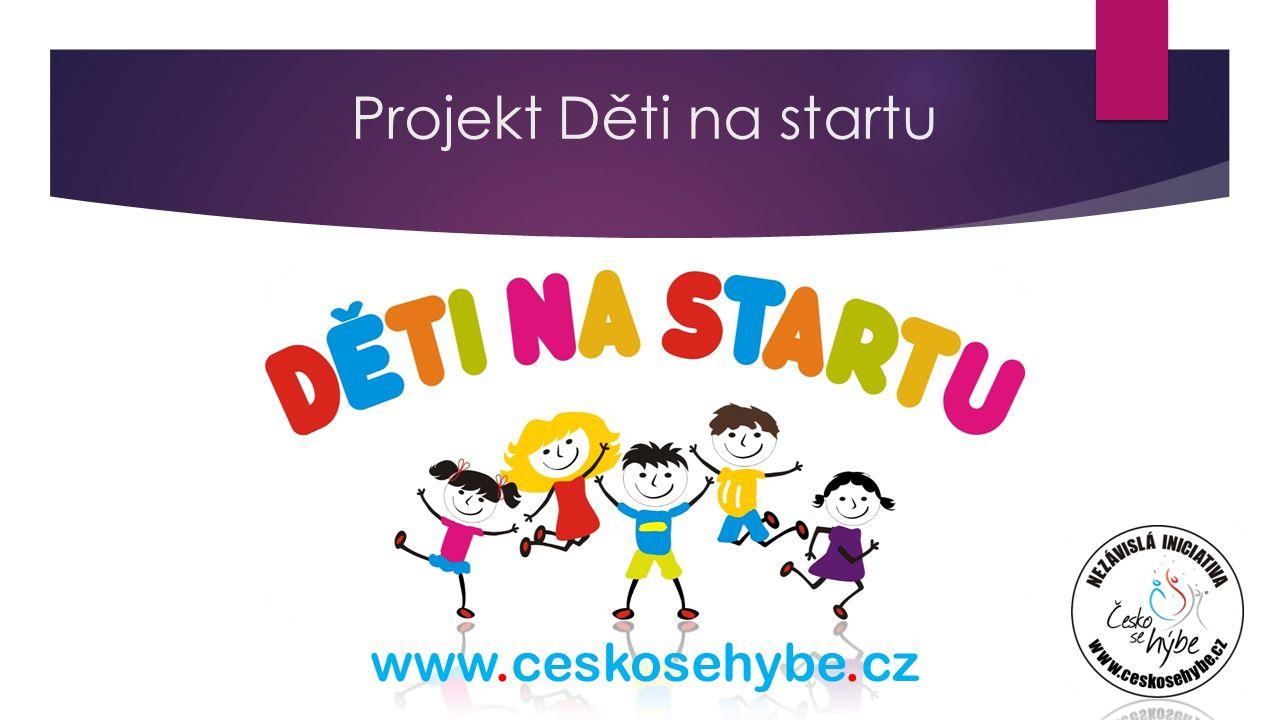 www.ceskosehybe.cz Projekt Děti na startu