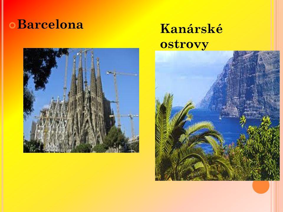 Barcelona Kanárské ostrovy