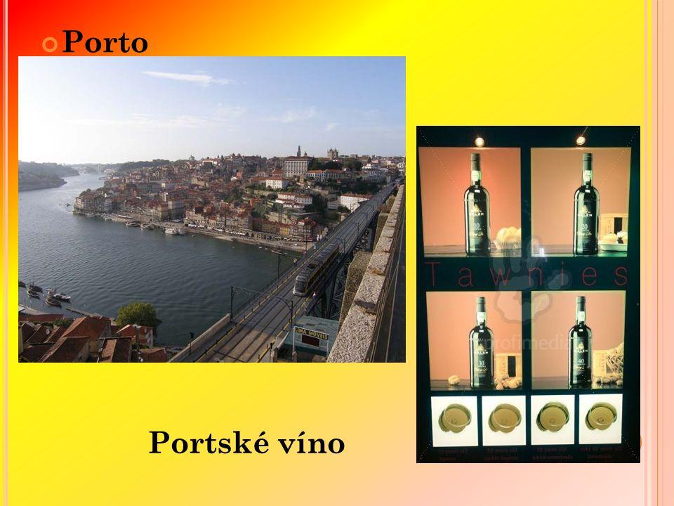 Porto Portské víno