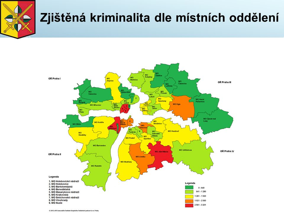 Mravnostní kriminalita vývoj - v letech 2011 - 2015
