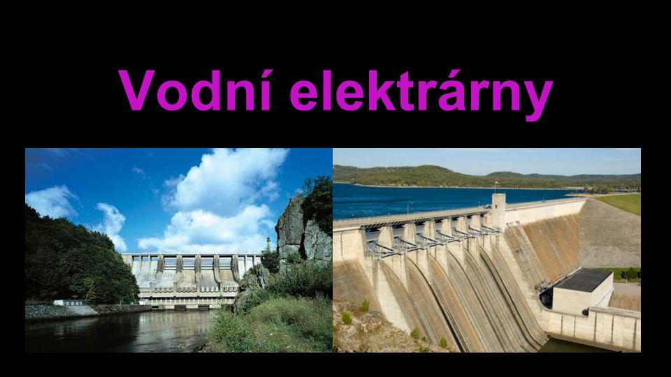 Vodní elektrárny