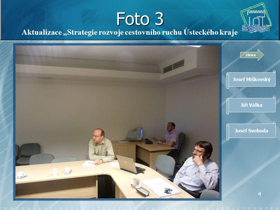 """3 Foto 2 zleva Romana Baštová Jiří Nekuda Rudolf Jung Aktualizace """"Strategie udržitelného rozvoje Ústeckého kraje"""""""