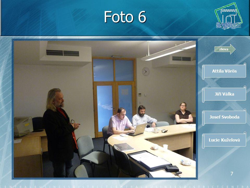 6 Foto 5 zleva Jiří Malý Marek Jabor Attila Vörös Jiří Válka
