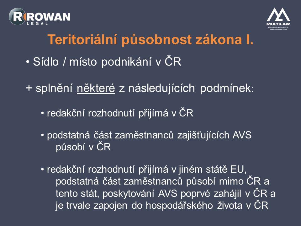 Teritoriální působnost zákona II.Internet Advertising Conference 2010, 27.