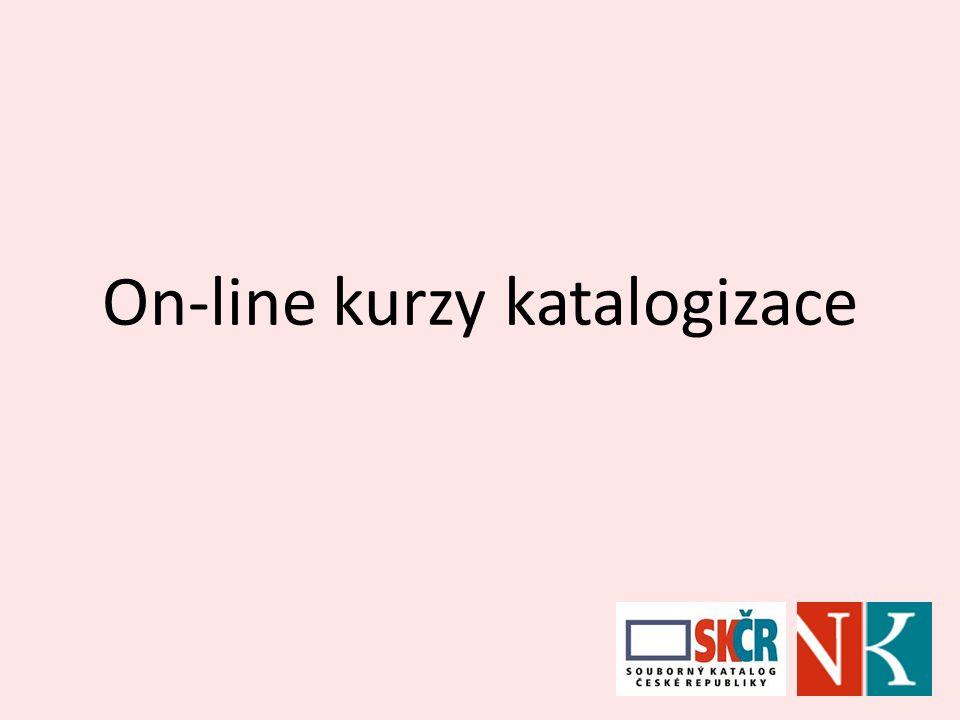 On-line kurzy katalogizace
