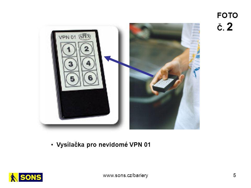 16 Výtah – ovládací panel - chybné provedení FOTO Č.