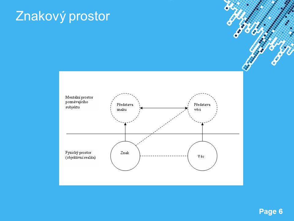 Powerpoint Templates Page 6 Znakový prostor