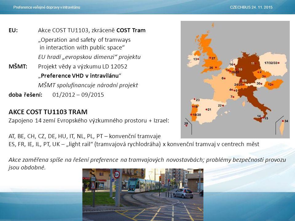 Preference veřejné dopravy v intravilánu CZECHBUS 24.