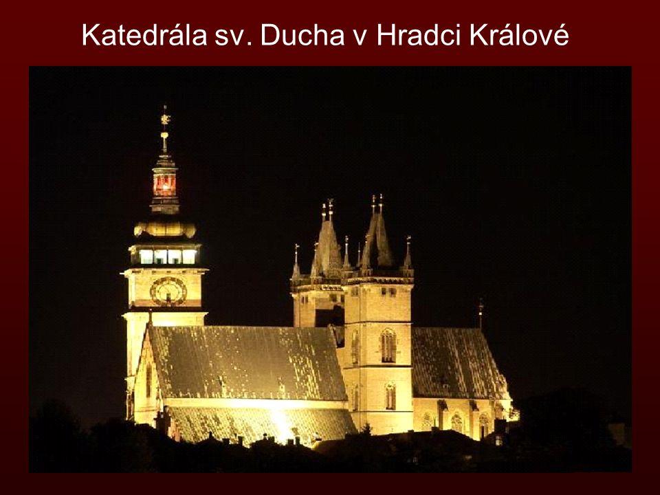 Katedrála sv. Ducha v Hradci Králové