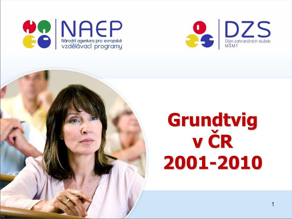 1 Grundtvig v ČR 2001-2010