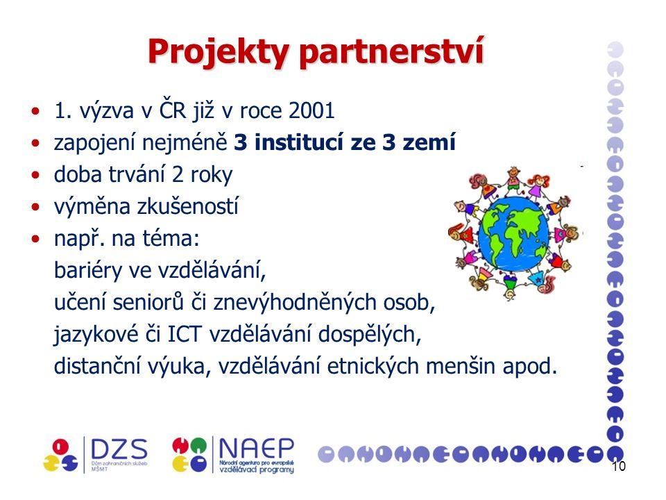 10 Projekty partnerství 1.
