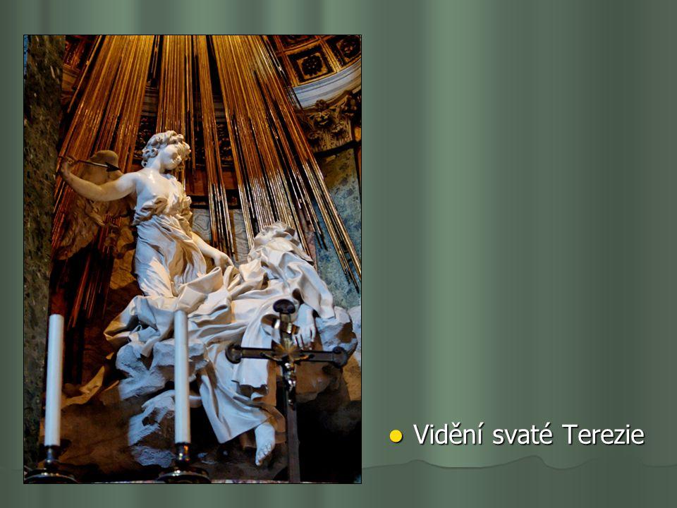Vidění svaté Terezie Vidění svaté Terezie