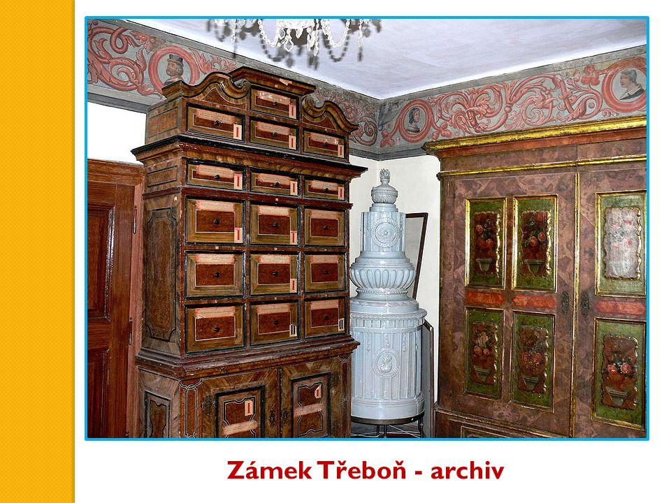 Zámek Třeboň - archiv