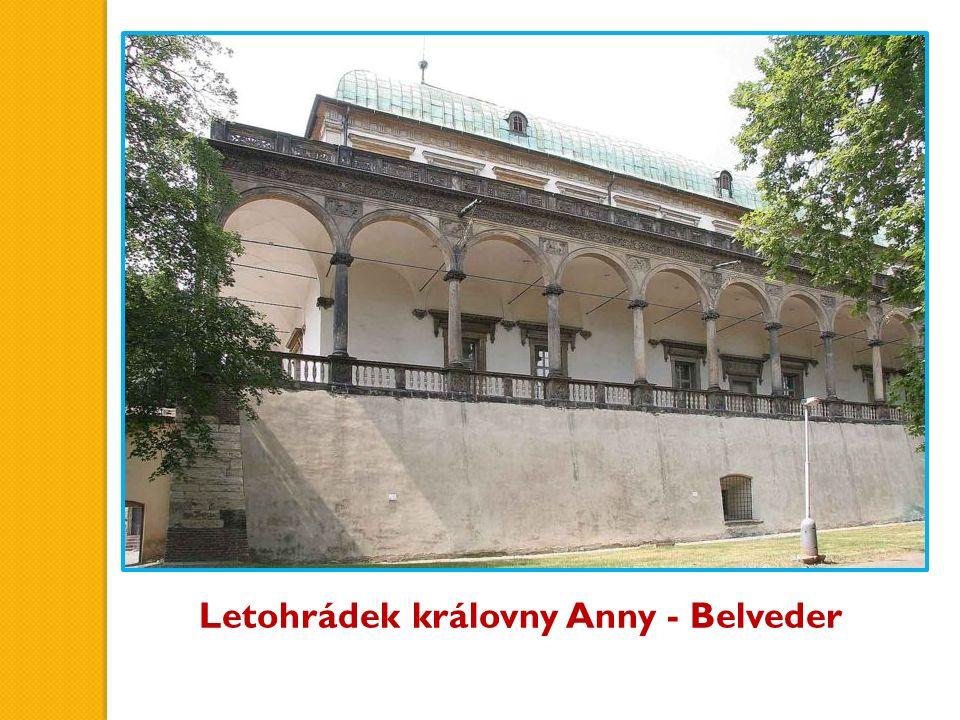 Letohrádek královny Anny - Belveder