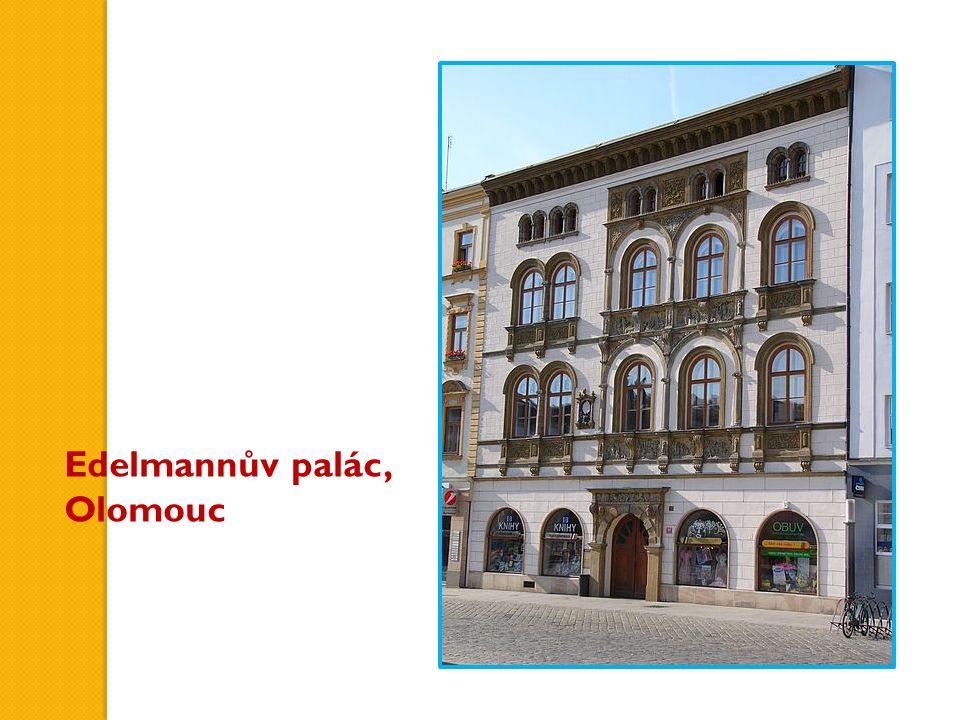 Edelmannův palác, Olomouc