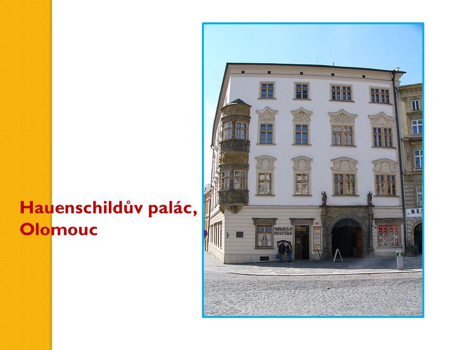 Hauenschildův palác, Olomouc